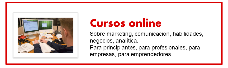 Cursos online de Marketing